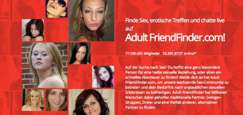 adult friend finder site